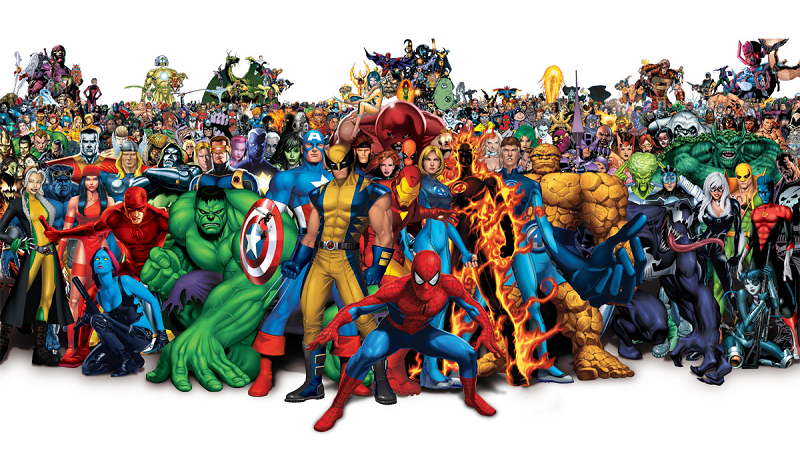 Marvel comic characters